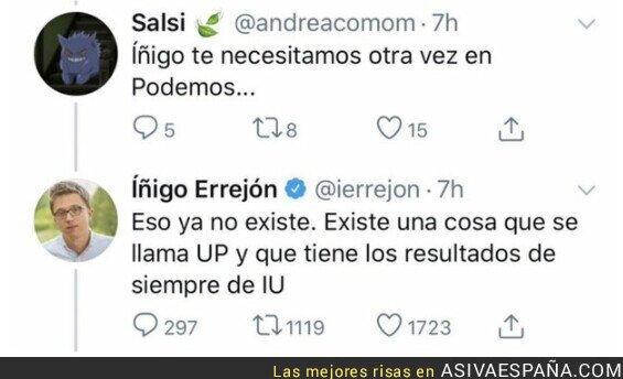 269928 - Íñigo Errejón hunde todavía más a Podemos tras las elecciones de Galicia