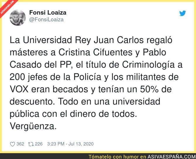 270508 - Menuda gestión de la Universidad Rey Juan Carlos