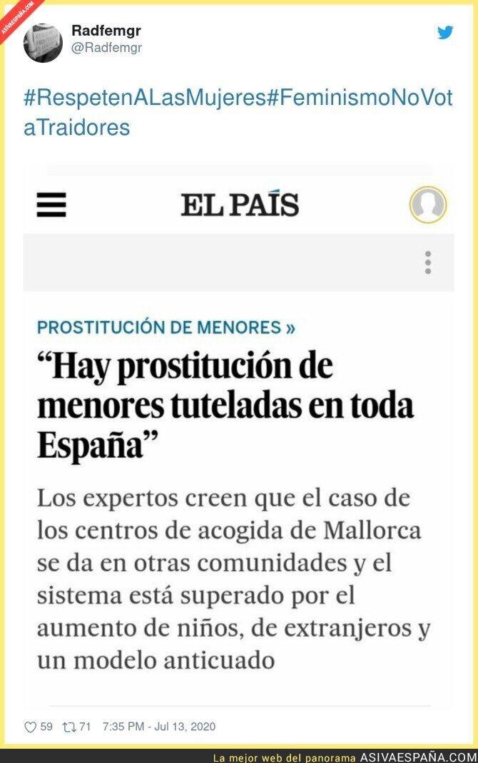 271239 - La grave situación de menores en España