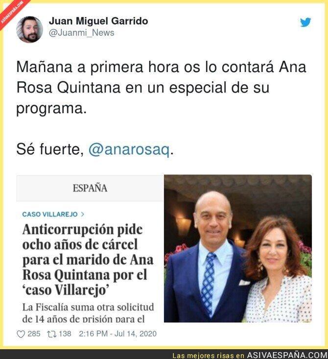 271938 - ¿Le constará esta noticia a Ana Rosa?