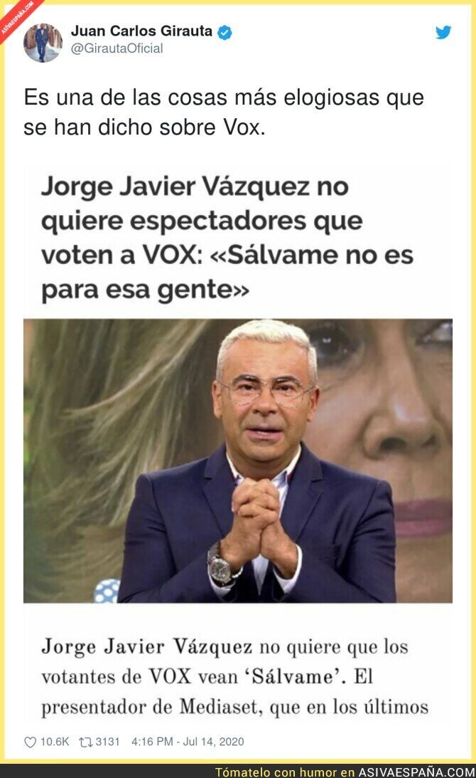 272356 - Juan Carlos Girauta empieza su trabajo en VOX