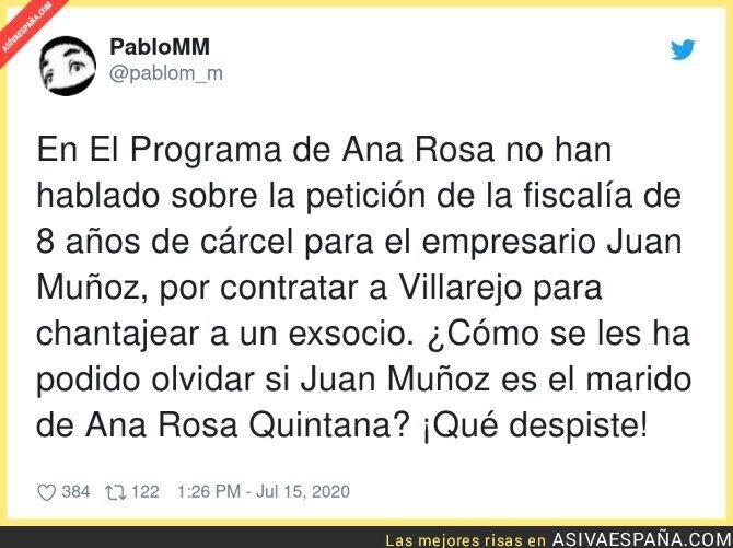 273454 - Con el gran periodismo que hacen en el programa de Ana Rosa