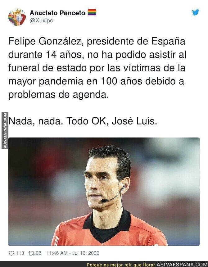274853 - Los problemas de agenda de Felipe González