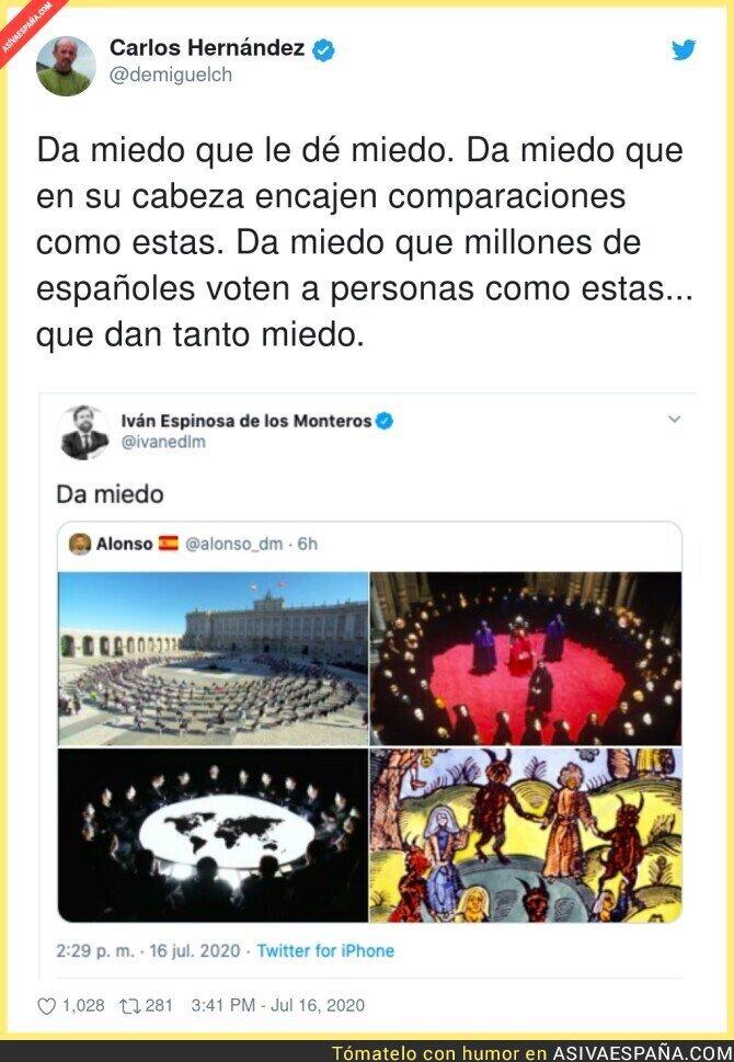 275352 - Iván Espinosa de los Monteros difundiendo conspiraciones de niño de 5 años