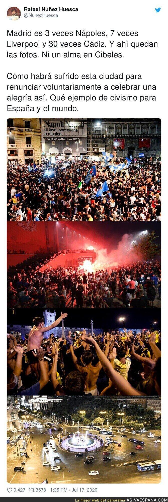 276857 - Madrid da un ejemplo al mundo entero