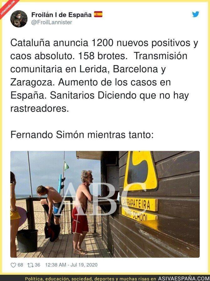 278697 - Fernando Simón de vacaciones en plenos rebrotes