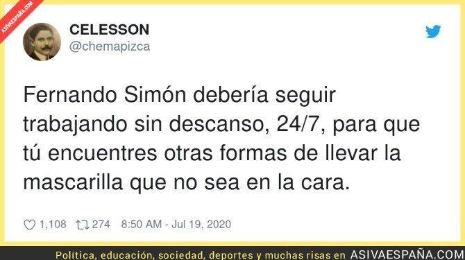 279246 - Maldita sea Fernando Simón que no trabaja como un esclavo