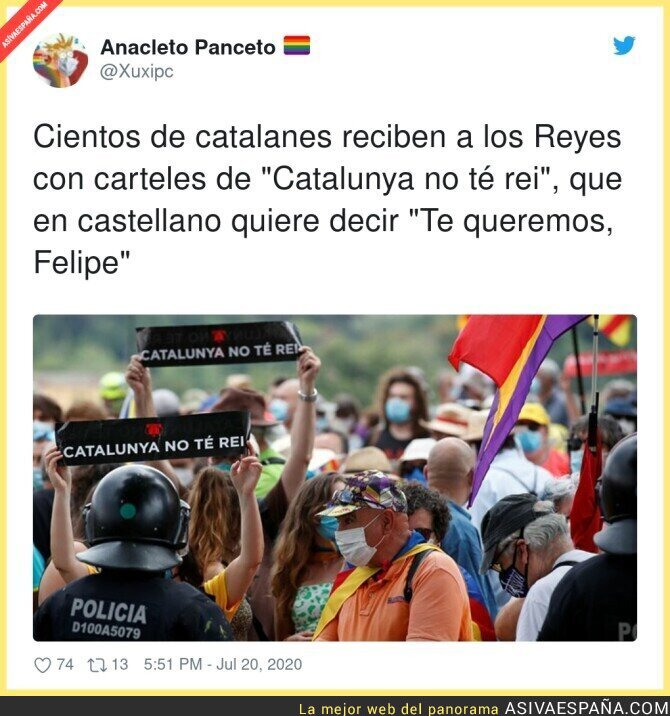 280800 - La Catalunya monárquica sale a las calles