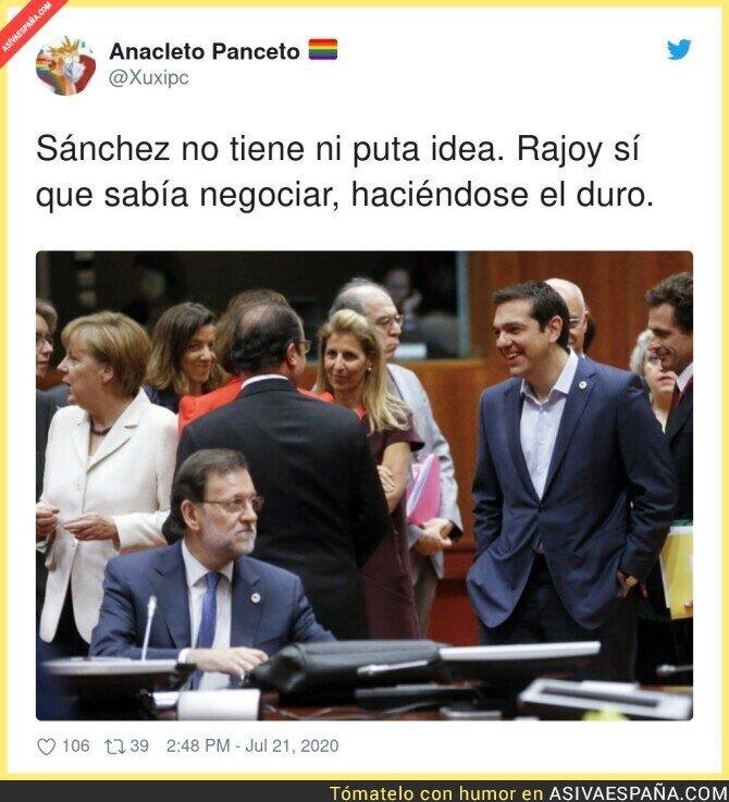 282139 - Rajoy se defendía como nadie en Europa