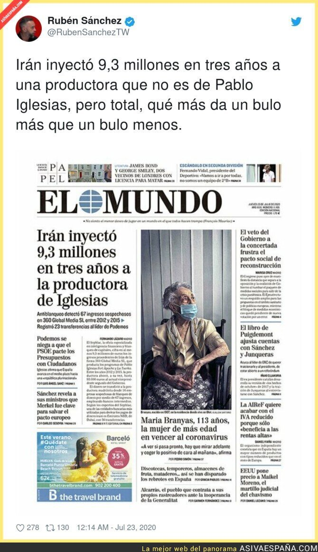 284139 - No importa si es Pablo Iglesias total se lo van a creer los mismos de siempre