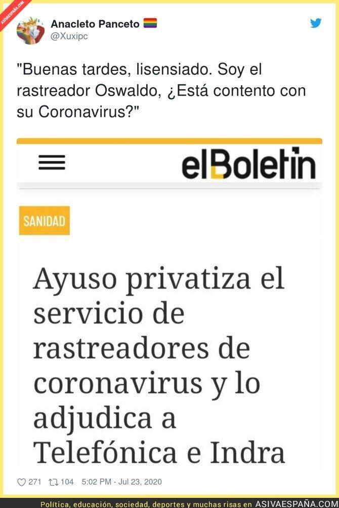285087 - Como te descuides en Madrid te privatizan hasta a la abuela