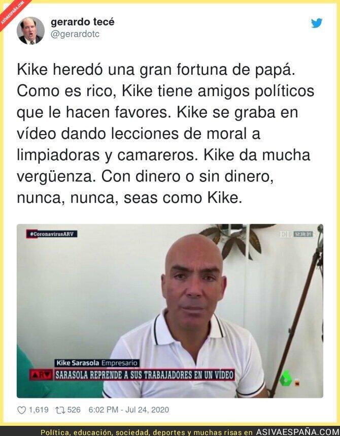 286329 - El mal ejemplo de Kike Sarasola