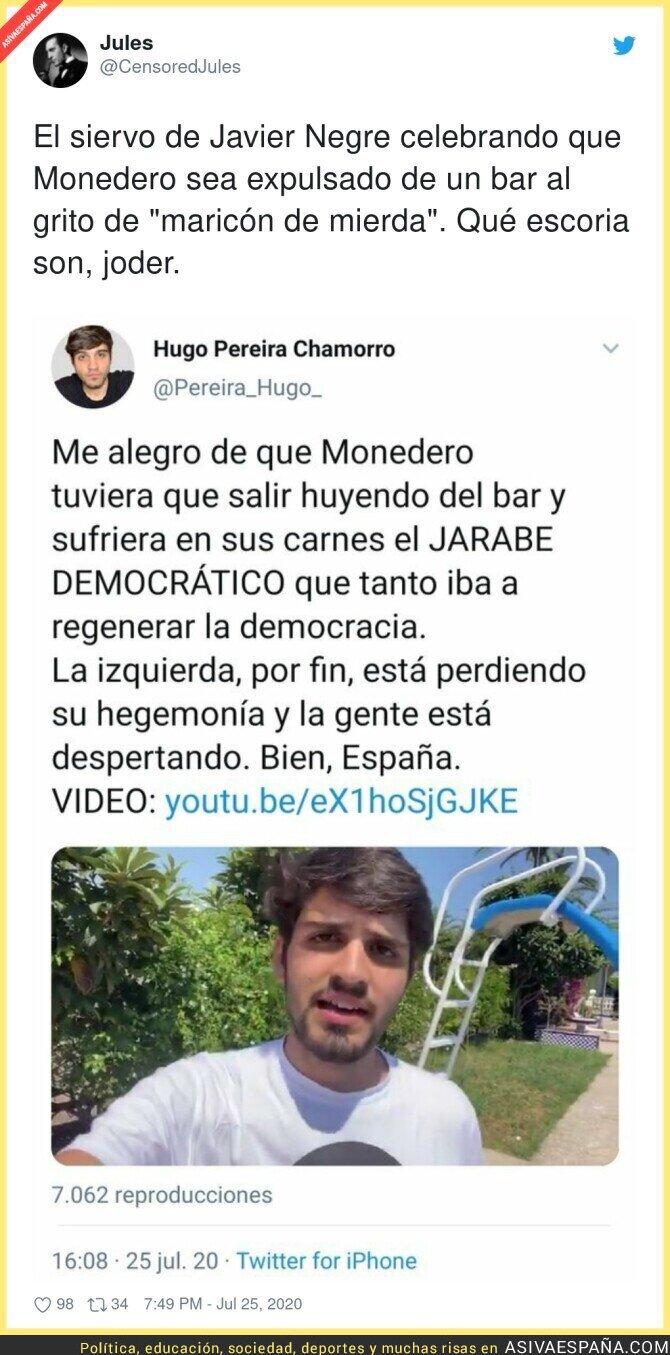 287613 - Hugo Pereira aplaudiendo a los fascistas