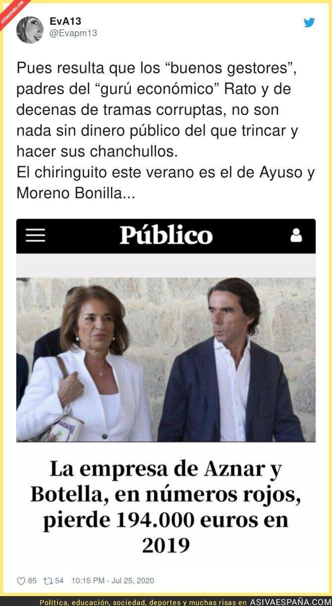 288031 - La familia Aznar se derrumba sin el dinero público