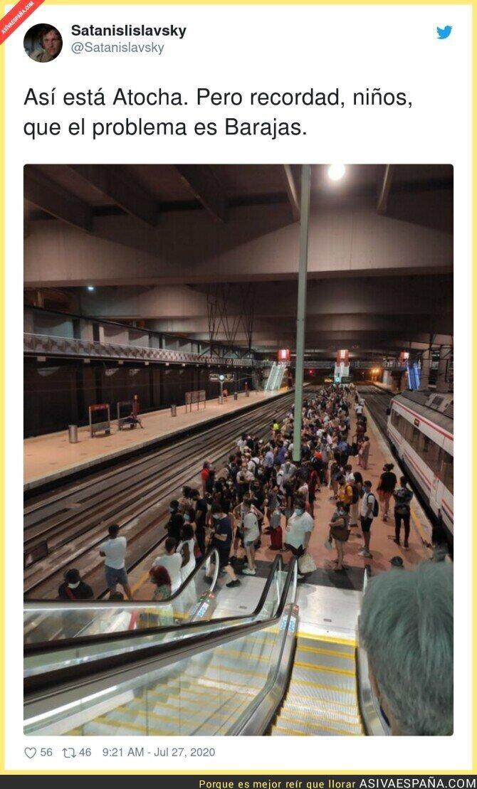 289683 - Da miedo pisar los transportes públicos en Madrid