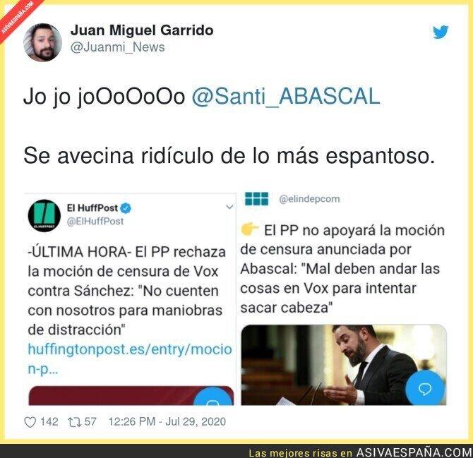 293512 - El PP le para los pies a Santiago Abascal