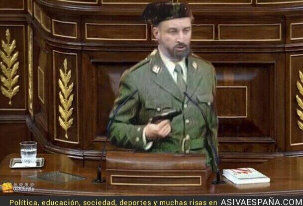 293703 - Santiago Abascal en septiembre en busca de la moción de censura