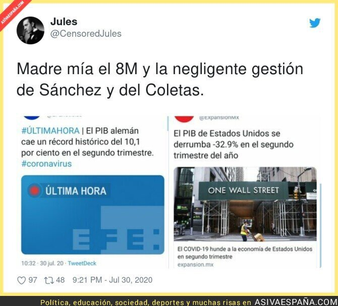 295920 - Pedro Sánchez y Pablo Iglesias hunden el mundo entero