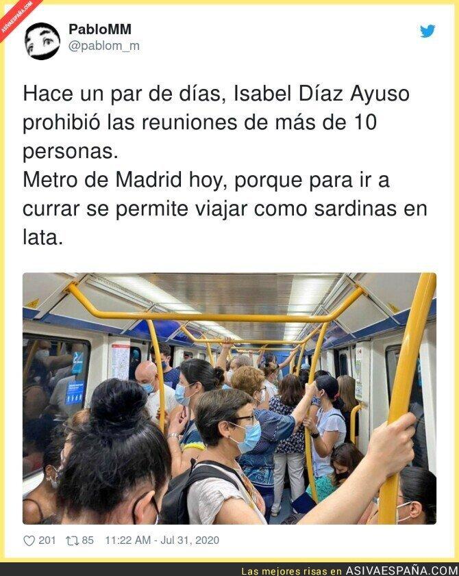 296782 - Miedo da saber cuantos infectados hay realmente en Madrid