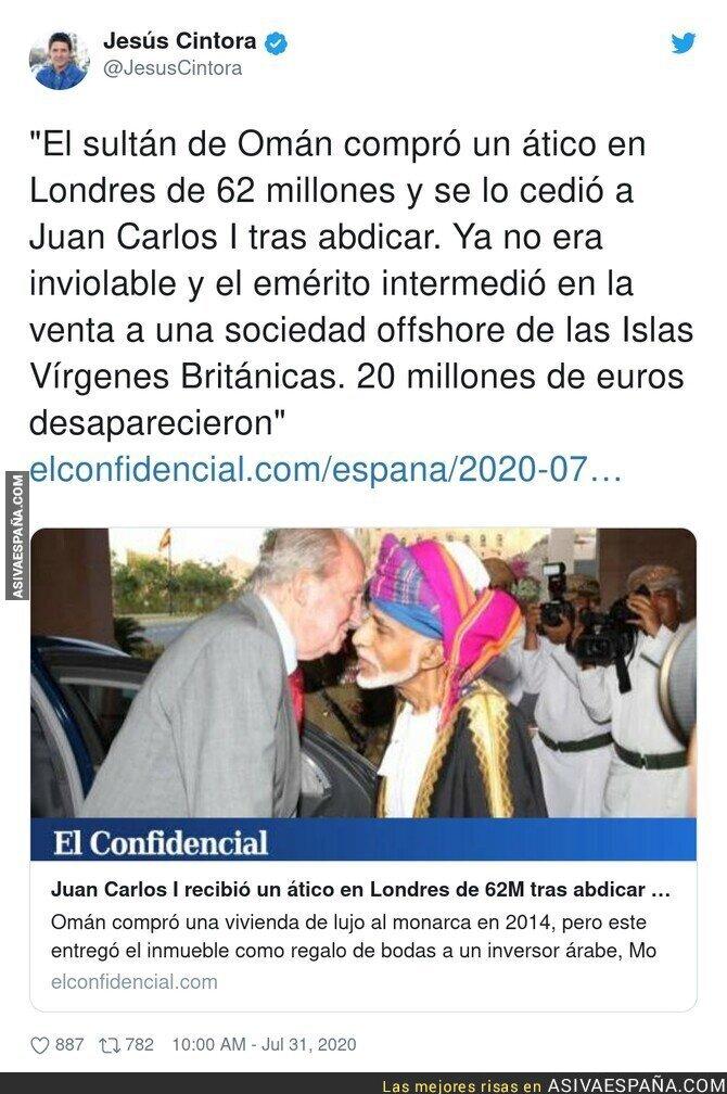 296970 - Siguen los escándalos alrededor de Juan Carlos I