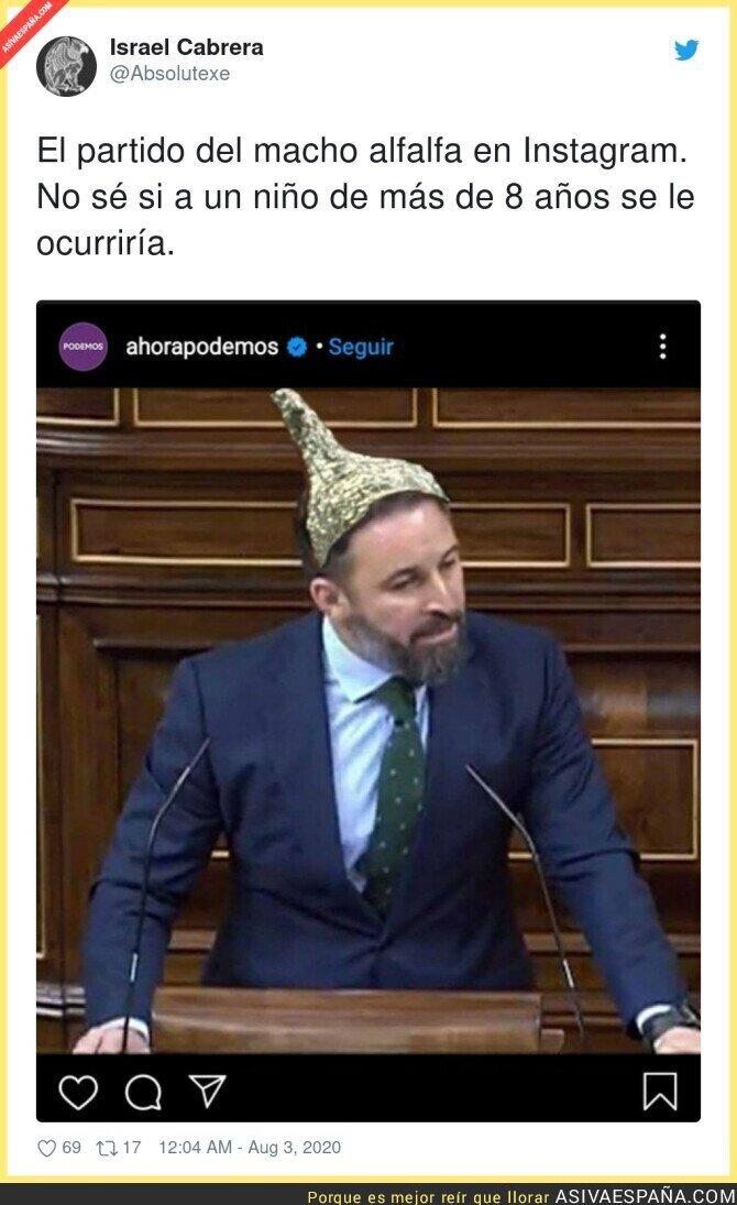 301012 - Ahora se entiende la pérdida de votantes de Podemos