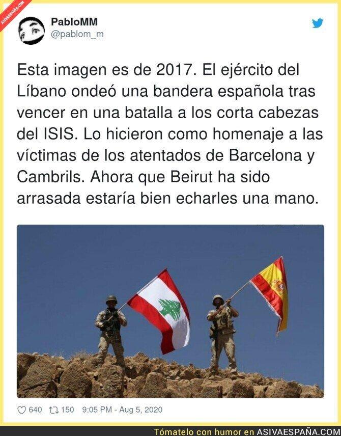 307032 - Toda nuestra solidaridad para el Líbano