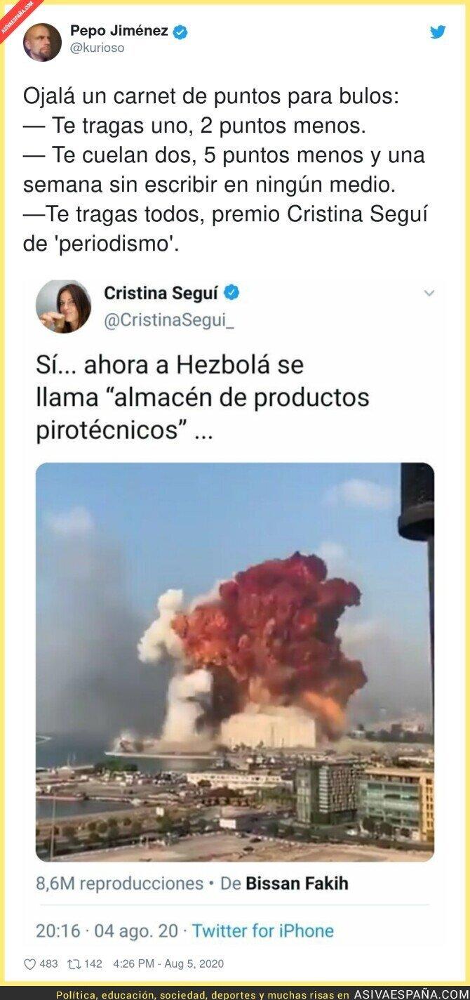 307416 - Cristina Seguí es una mina para encontrar bulos