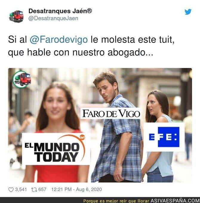 308175 - Por favor, que el siguiente tuit sea El Faro de Vigo preguntando