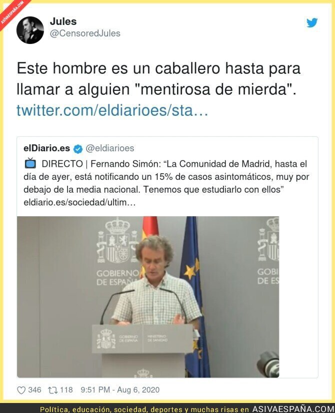 308731 - Fernando Simón dice todo sin decir nada sobre Madrid