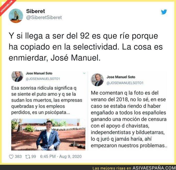 312837 - La cosa es meter mierda a Pedro Sánchez sea como sea