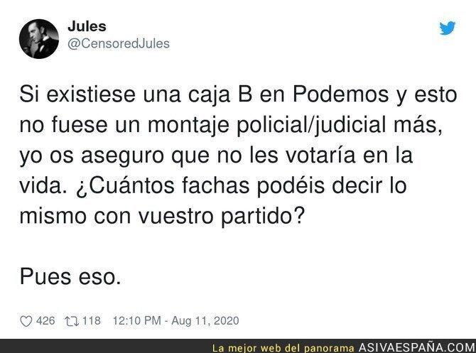 315426 - Las sospechas de caja B en Podemos