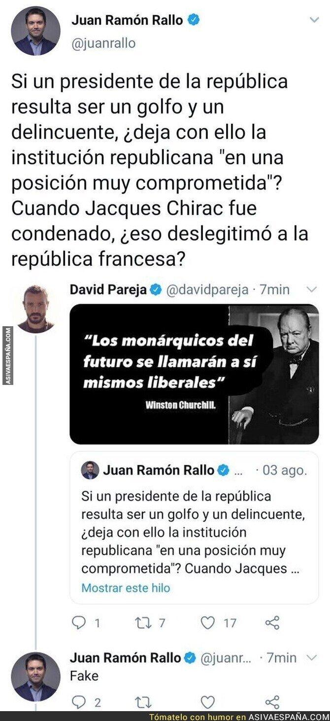 316104 - Surrealista Juan Ramón Rallo acusando a una de las frases de Churchill de fake