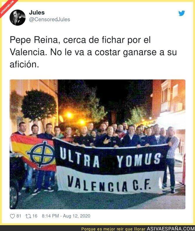 317815 - Reina va a estar como en casa en Valencia