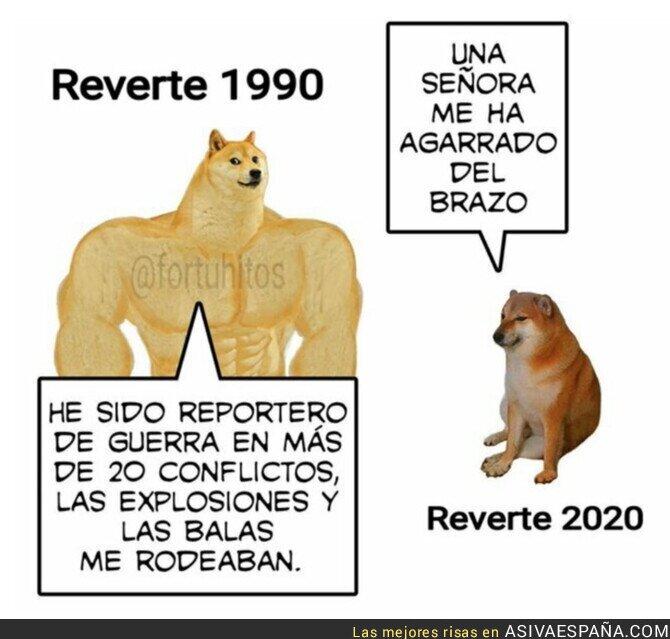 323578 - Las aventuras de Arturo Pérez-Reverte han cambiado mucho