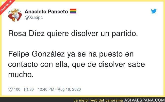 323777 - Felipe González tiene gran experiencia