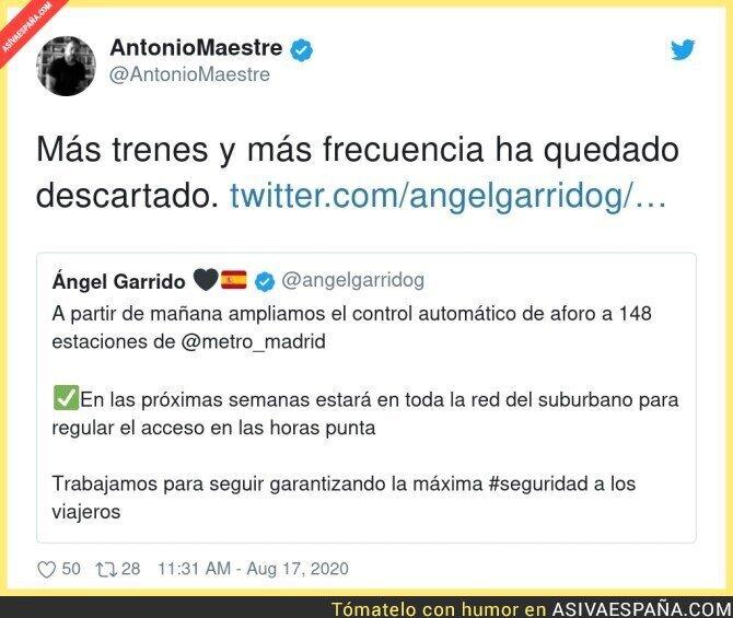 325562 - Medidas insuficientes en Madrid
