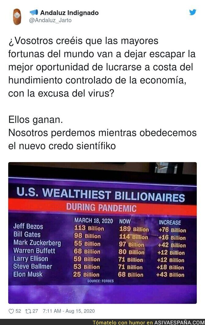 325697 - Los millonarios nunca pierden