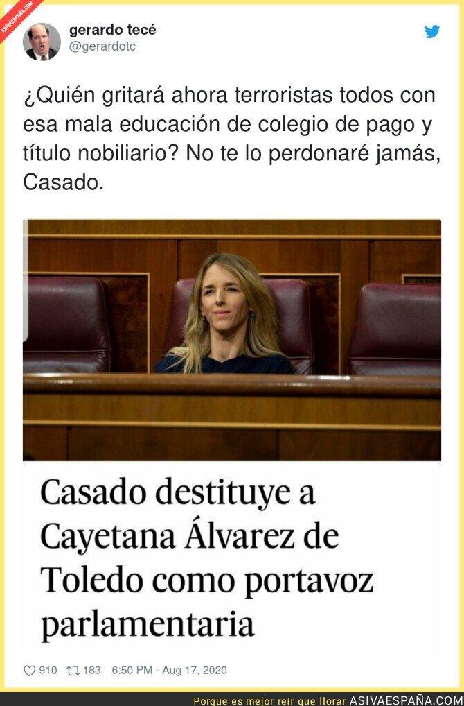 326522 - Pablo Casado echa a Cayetana Álvarez de Toledo del PP