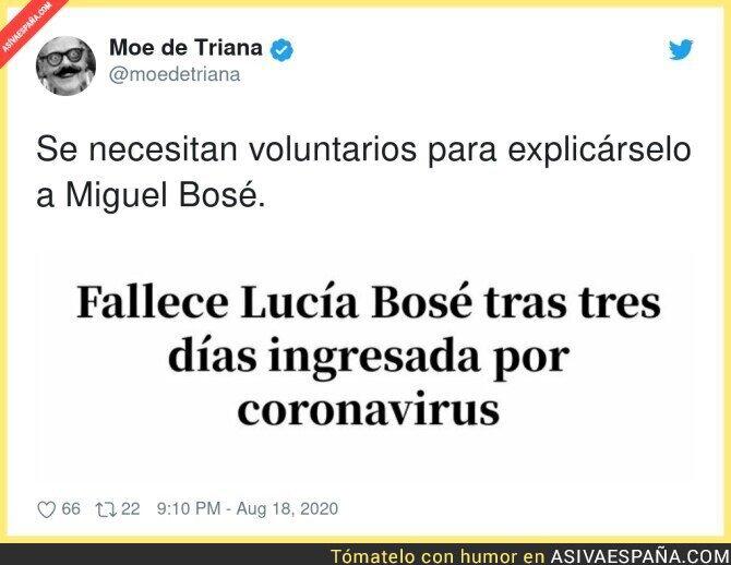 328550 - A Miguel Bosé la muerte de su madre no le enseñó nada