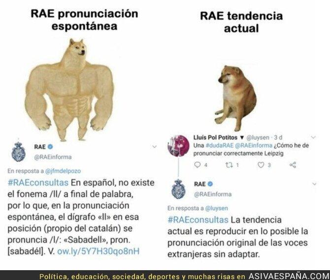 328588 - La RAE y su forma de pronunciar según convenga