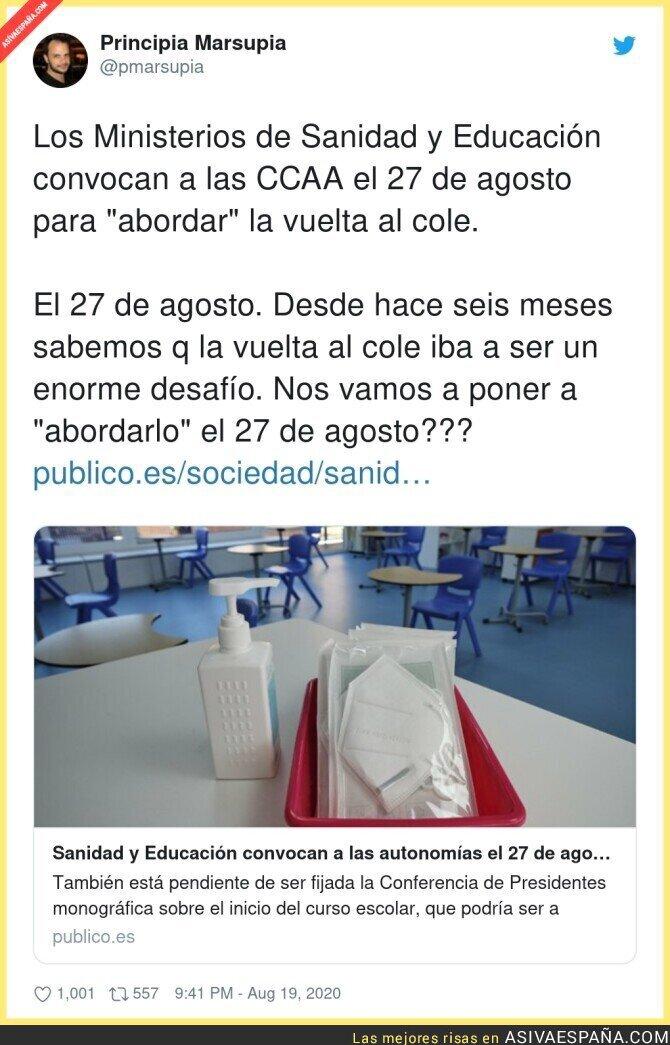 330539 - En España siempre se deja todo para última hora