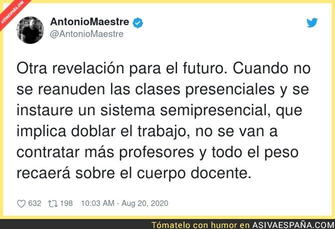 331009 - La educación española va a caer bajo mínimos y pagarán los profesores