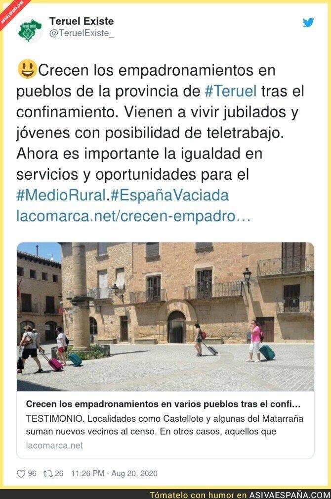 332438 - A igualdad de servicios, la vida en el entorno rural es infinitamente más salud…  , por @TeruelExiste_