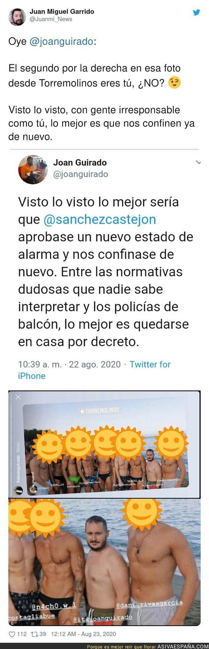 335501 - Mucho pedir a Pedro Sánchez y poco dar ejemplo
