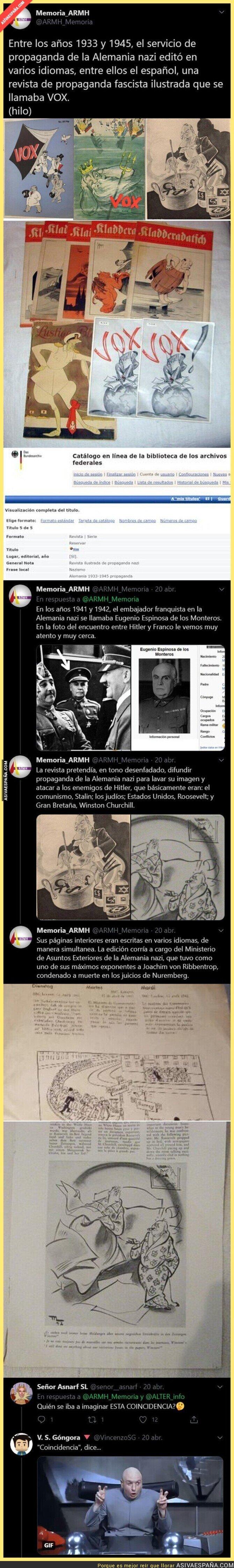 335906 - Entre los años 1933 y 1945 esta es la revista que el servicio de propaganda de la Alemania nazi editó en varios idiomas