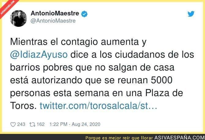 337460 - Negligencia criminal lo de Díaz Ayuso en Madrid