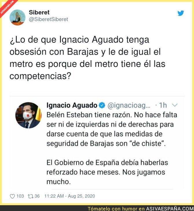 339033 - Ignacio Aguado desviando la atención