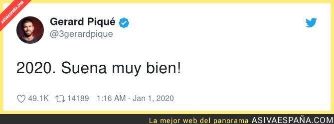 340221 - Gerard Piqué gafó 2020