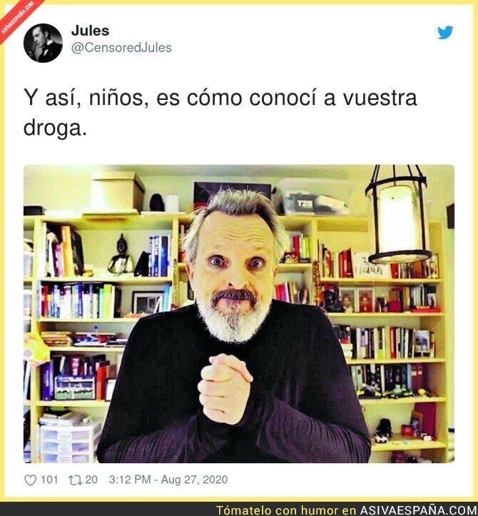 342627 - Miguel Bosé está totalmente ido
