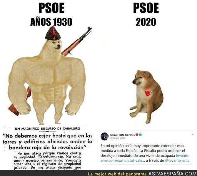 344138 - El gran cambio del PSOE...